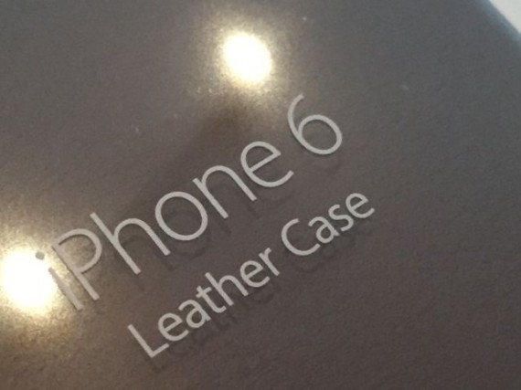 Apple iPhone 6 Brown Leather Case