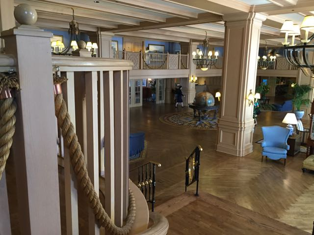 Disney Resort Lobby