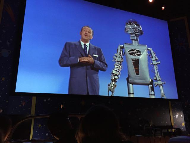 Walt Disney and Robot