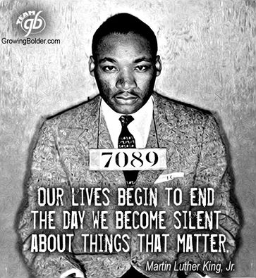Martin Luther King Jr photo from prison