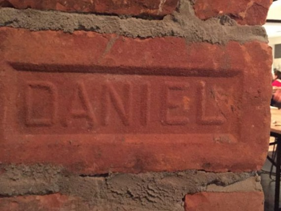 Daniel bricks
