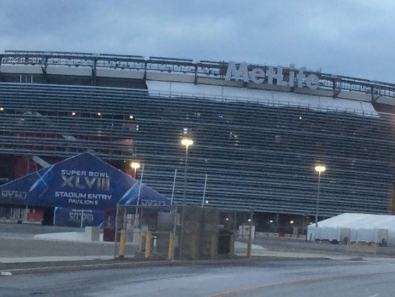 Met Life Stadium for Super Bowl 48