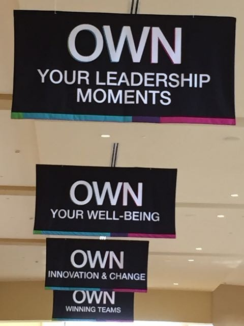 Conference Center Inspiring Banners