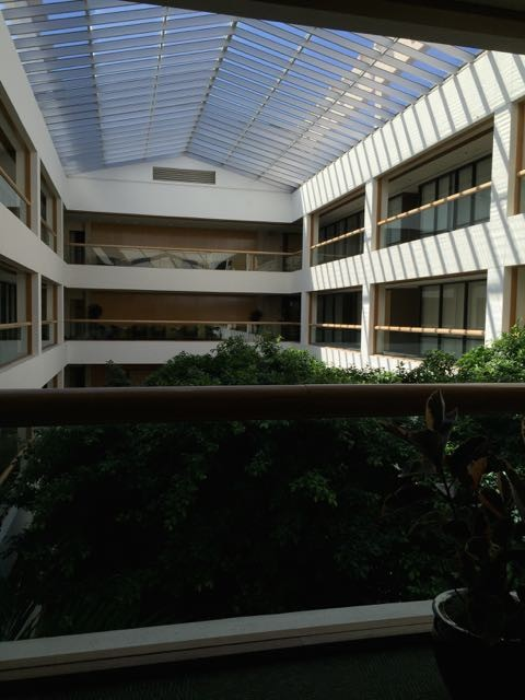Disney's SunTrust Building atrium.