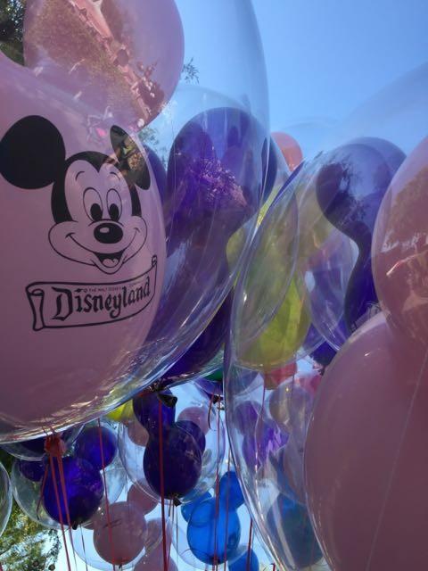 Disneyland balloons