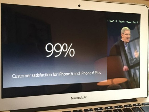 Tim Cook March 2015 Apple event.