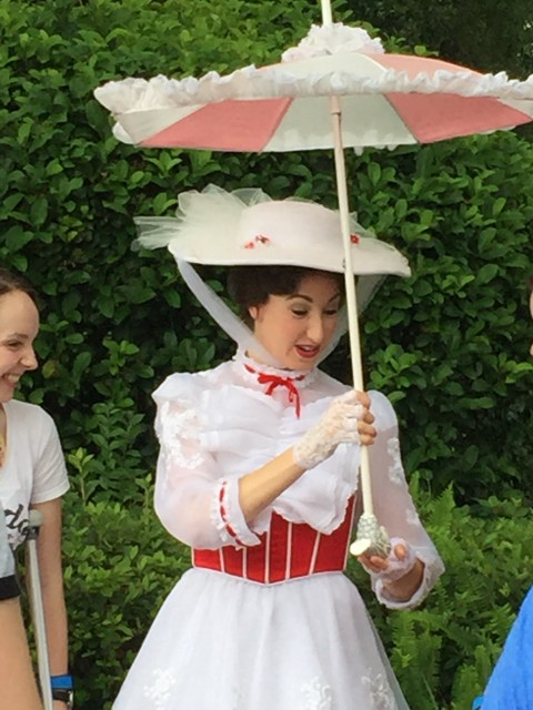 Mary Poppins at Epcot's United Kingdom