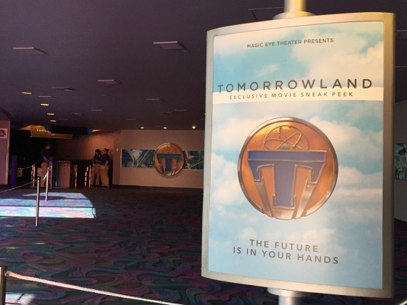 Disney's Tomorrowland movie sneak peak at Epcot
