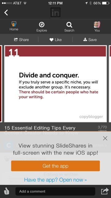 Copyblogger quote