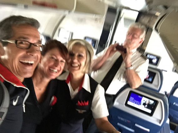 Amazing Delta Flight crew.