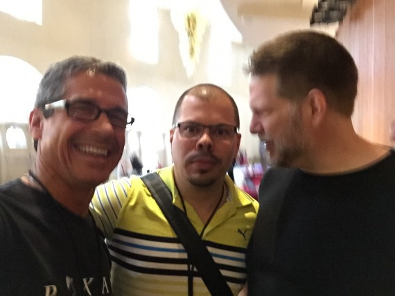 jeff noel, Raul Colon, Chris Brogan at Authority 2015