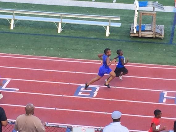 Bantam boys 100 meters