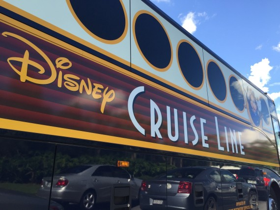 Disney Cruise Line Guest Bus
