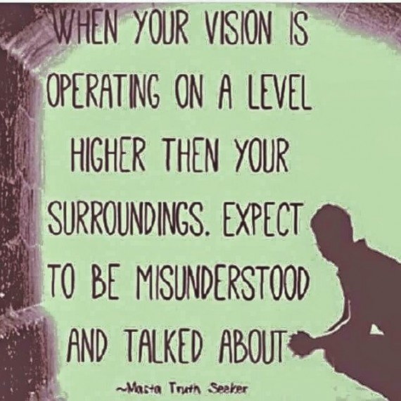 Quote about being a visionary