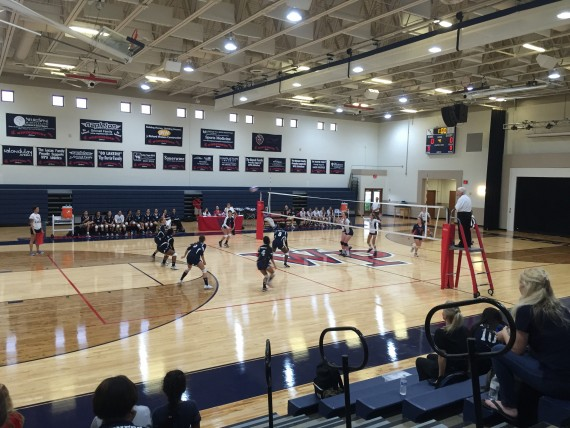 Windermere Prep Lakers Girls Varsity Volley Ball season opener 2015