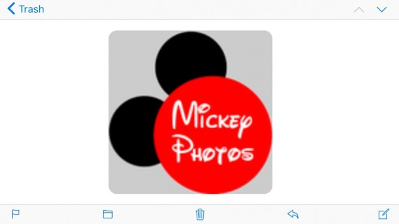 Mickey Mouse Logo on Twitter
