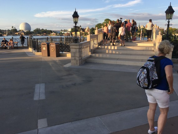 Film crew at Epcot