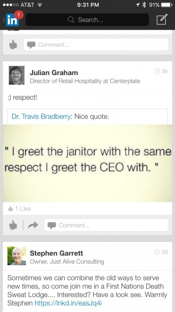 CEO vs janitor