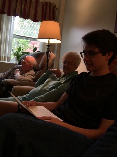 Teen and seniors