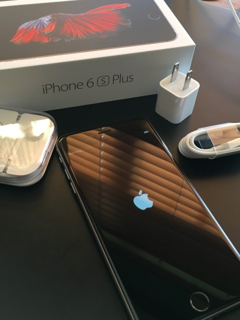 iPhone 6s Plus and accessories