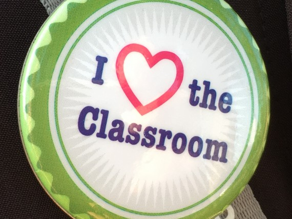 i love the classroom button