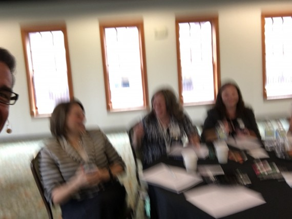 Blurred photo from Disney Leadership class