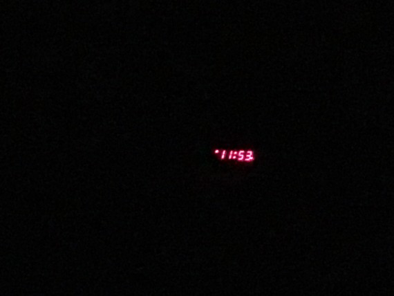 LED old school alarm clock