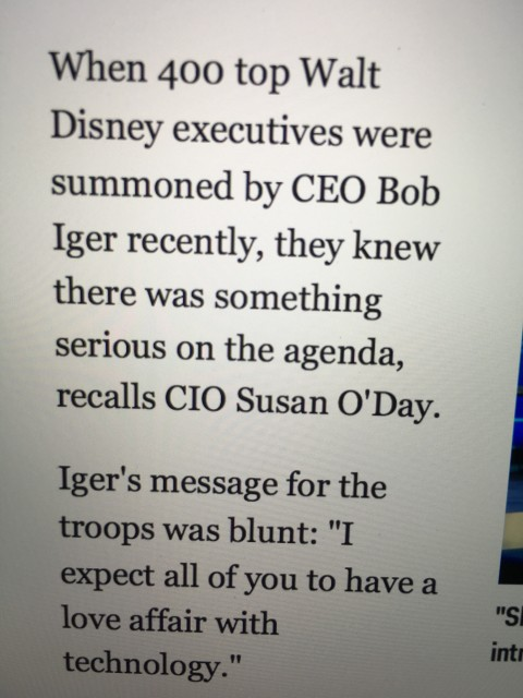 Disney Bob Iger quote
