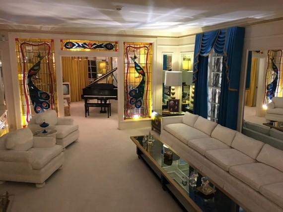 Elvis's living room
