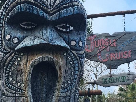 Jungle Cruise attraction at Walt Disney World