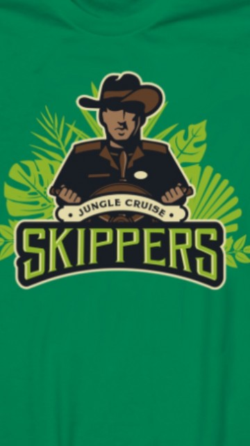 Jungle Cruise Skippers t-shirt