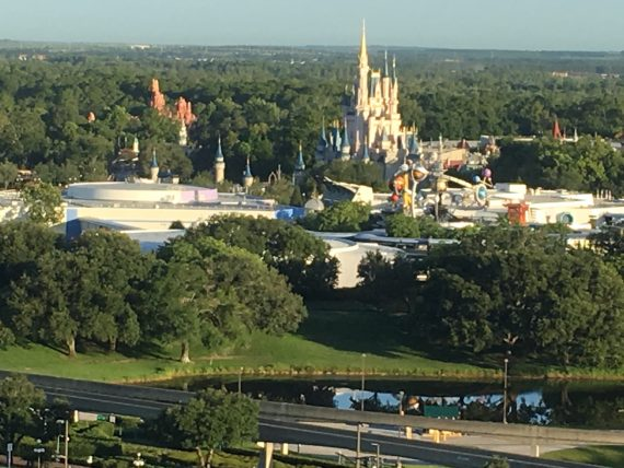 Disney's Magic Kingdom from Contemporary Resort
