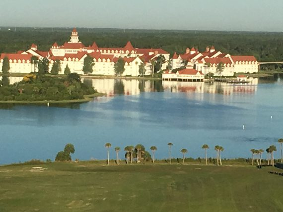 Disney's Grand Floridian Resort from Contemporary Resort