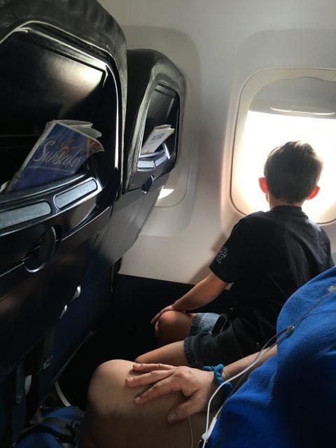 Airplane wind seat