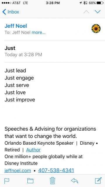 jeff noel Disney expert speaker