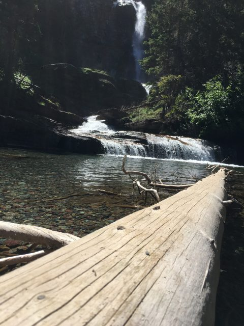 Virginia Falls hike