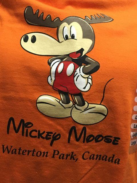 Glacier Park tee shirts