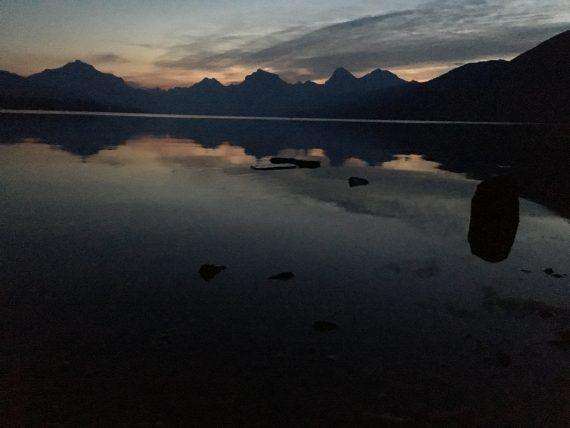 Lake McDonald at dawn