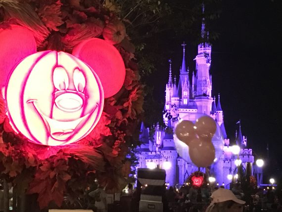 Disney's Not So Scary Halloween decorations
