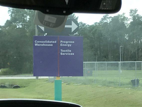 Disney World Roadside signs