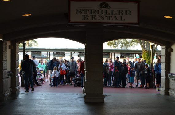 Magic Kingdom pre-opening