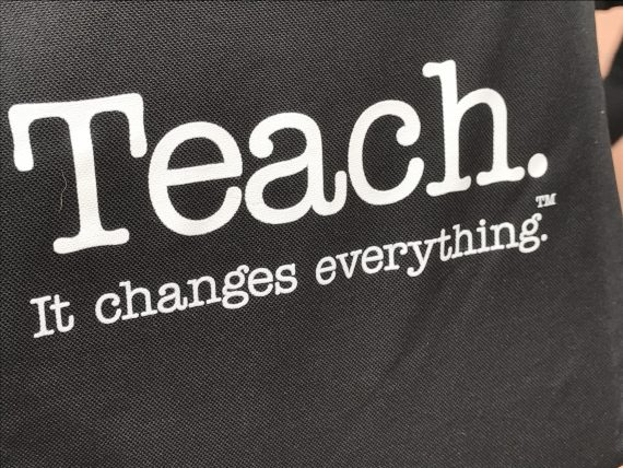 Teaching slogan
