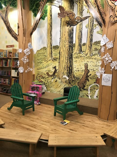 Barnes and Noble kids area