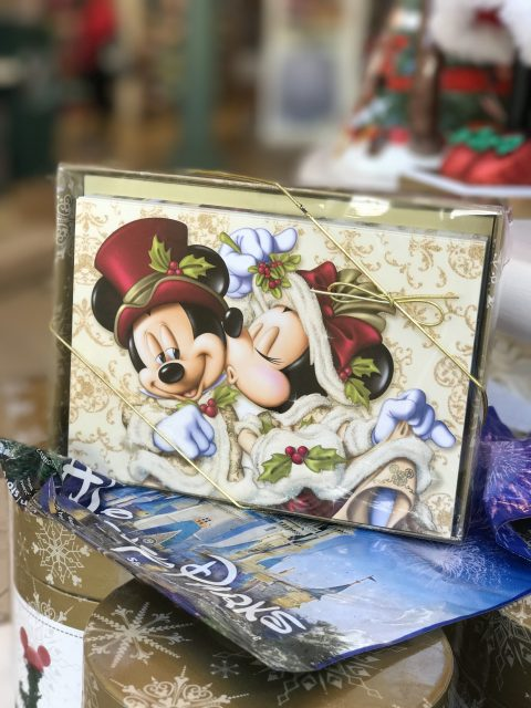 Mickey andMinnie Christmas Card