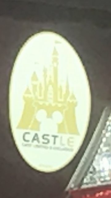 Disney Cast car sticker