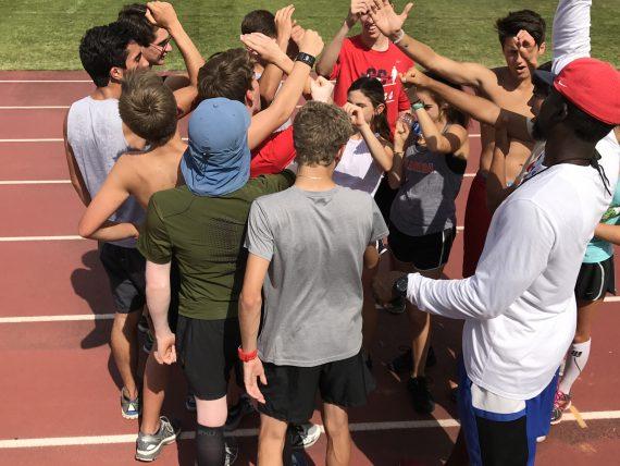 WPS Track practice