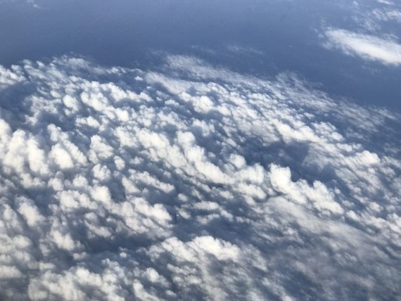 clouds from jet