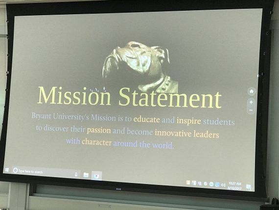 Bryant University Mission Statement