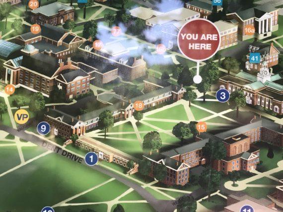 Bucknell University map