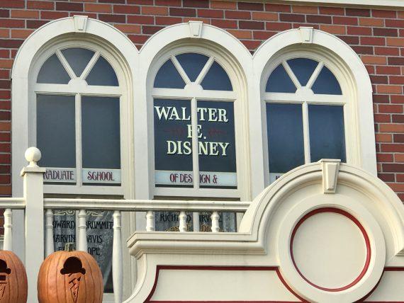 Walt Disney window